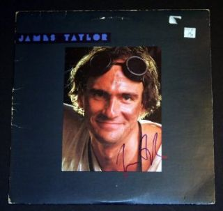 James Taylor Signed Autographed Album James Taylor Entertainment Collectibles
