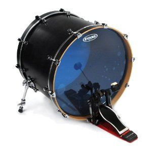 Evans Hydraulic Blue Bass Drum Head, 22 Inch Musical Instruments