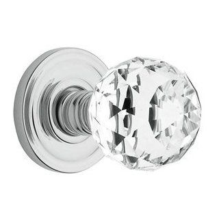Baldwin Hardware 5009030 Pair Knobs 030 Polished Brass Door Hardware Swarovski Crystal Knob Latchsets   Doorknobs