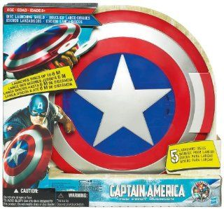 Hasbro Captain America The First Avenger Disc Launching Shield Toys & Games