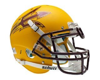 NCAA Arizona State Sun Devils Authentic XP Alt One Football Helmet  Sports Related Collectible Helmets  Sports & Outdoors