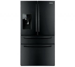 Samsung  28 Cu. Ft. French Door Refrigerator White or Black —