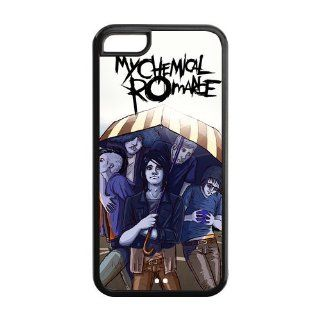 Funny Cartoon My Chemical Romance Iphone 5C Hard Cover Case Cell Phones & Accessories