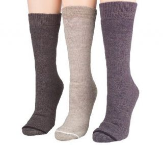 3 Pair ECP Extreme Cold Protection Merino Wool Socks —