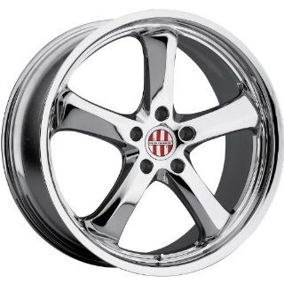 Victor Equipment Turismo 20 Chrome Wheel / Rim 5x130 with a 50mm Offset and a 71.5 Hub Bore. Partnumber 2010VIT505130C71 Automotive