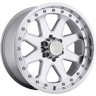 Black Rhino Imperial 18 Silver Wheel / Rim 6x5.5 with a  12mm Offset and a 112 Hub Bore. Partnumber 1890MPR 26140S12 Automotive