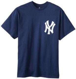 MLB Majestic New York Yankees #9 Roger Maris Navy Blue Retired Player T shirt  Sports & Outdoors