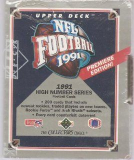 1991 Upper Deck NFL Football High Number Series Box