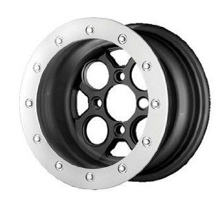 XD ATV XS222 12x7 Black Wheel / Rim 4x117 with a 25mm Offset and a 82.00 Hub Bore. Partnumber XS22212747725 Automotive
