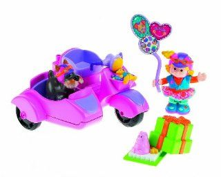 Fisher Price Little People   Sarah Lynn & Her Scooter Toys & Games