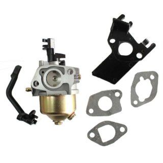 Carburetor Carb With Manifold Intake Gaskets fit for Honda Gx120 Gx160 Gx200 5.5Hp 6.5Hp Generator Lawn Mover Chinese Engine New  Generator Replacement Parts  Patio, Lawn & Garden