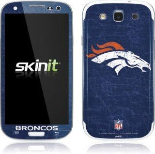 NFL   Denver Broncos   Denver Broncos   Distressed   Samsung Galaxy S3 / S III   Skinit Skin Cell Phones & Accessories