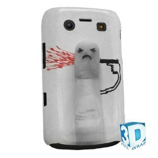 Finger Shooting Himself Blackberry Bold 9700 9780 High Gloss Phone Cover Case Photo Quality   3D Full Wrap Design