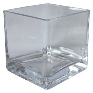 Threshold™ Small Square Glass Vase 3.15x3.15