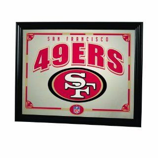 NFL San Francisco 49ers 22 Inch Printed Mirror  Sports Fan Mirrors  Sports & Outdoors