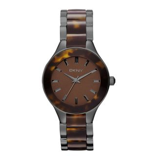 DKNY Women's Tortoise Shell/ Gun metal Grey Watch DKNY Women's DKNY Watches