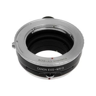 Fotodiox Pro shift Lens Adapter, Contax/Yashica (also known as c/y cy) Lens to MFT Micro 4/3 Four Thirds System Camera Mount Adapter, for Olympus PEN E PL1, E PL1s, E PL2, E PL3, E P2, E P3, E M, OM D, E M5, Panasonic Lumix DMC G1, G2, G3, G10, GX1, GH1, G
