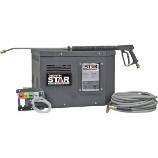 NorthStar Electric Cold Water Stationary Pressure Washer — 3000 PSI, 2.5 GPM, 230 Volt  Electric Cold Water Pressure Washers