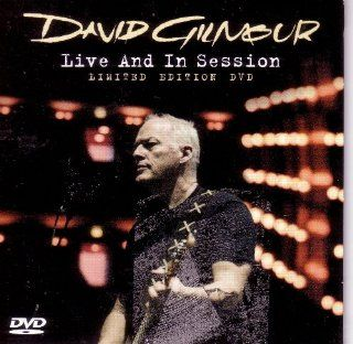 David Gilmour Live and in Session Movies & TV