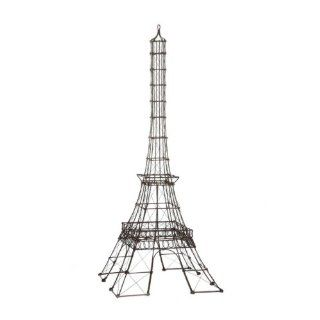 Shop Eiffel Tower Wire Frame Building Rust Finish at the  Home D�cor Store. Find the latest styles with the lowest prices from Touch of Europe