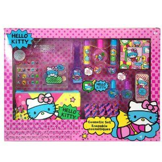 Sanrio Hello Kitty Mega Boxed Cosmetic Make Up Set Toys & Games