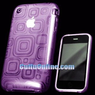 Cuffu   Purple FS  Universal iPhone / iPhone 3G / iPhone 3G S Crystal Skin Case Cover Perfect for Sprint / AT&T / Nextel / Tmobile / Verizon / Metro PCS Makes Top of the Fashion in Only One LOWEST Shipping Rate $2.98   Goes With Everyday Style and Appa