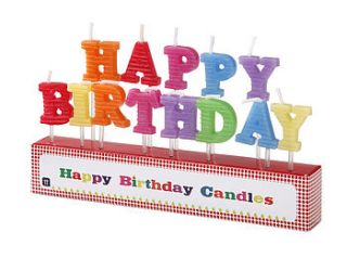 happy birthday candles by the 3 bears one stop gift shop