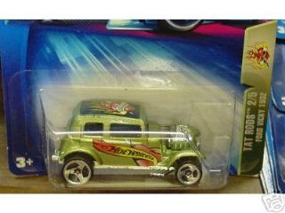 Mattel Hot Wheels 2004 Tat Rods 164 Scale Green 1932 Ford Vicky 2/5 Die Cast Car #119 Toys & Games