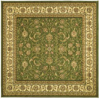 Lyndhurst Collection Traditional Sage/ivory Rug (6 Square)