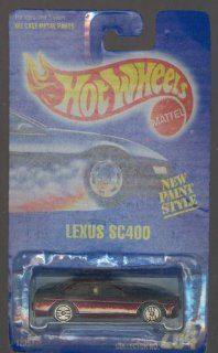 Hot Wheels 1992 264 Lexus Sc400 All Blue Card NEW Paint Style 164 Scale Toys & Games
