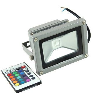 Estone 10W LED RGB Color Spotlight Flood Light Garden Lamp 85 265V Waterproof  Landscape Spotlights  Patio, Lawn & Garden