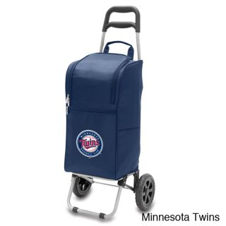 Mlb 15 quart Insulated Cooler With Folding Trolley