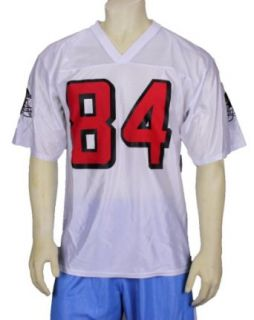 Reebok Atlanta Falcons Mens Dazzle Jersey NFL Roddy White, White Clothing