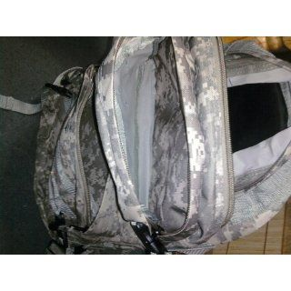Heavy Duty Water Resistant Digital Camo Army Backpack Multiple Zippered Pockets Patio, Lawn & Garden