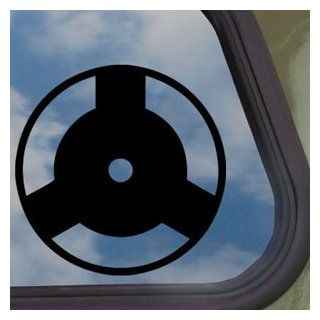 Naruto Black Decal Izuna's Mangekyo Sharingan Car Sticker   Automotive Decals