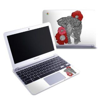 The Elephant Design Protective Decal Skin Sticker (High Gloss Coating) for Samsung Chromebook 11.6 inch XE303C12 Notebook Computers & Accessories