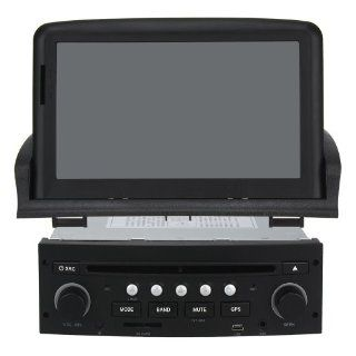 "Car DVD Navigation with 7"" Digital Touch screen and iPod BT RDS CAN BUS for 2001 2011 Peugeot 307  Vehicle Dvd Players"