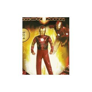 Marvel Iron Man Costume for kids   Halloween Costume (7 8) Toys & Games
