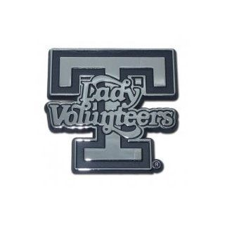 "University of Tennessee ""Lady Volunteers T Logo"" Premium Chrome Metal Car Truck Motorcycle with NCAA College Emblem Automotive"