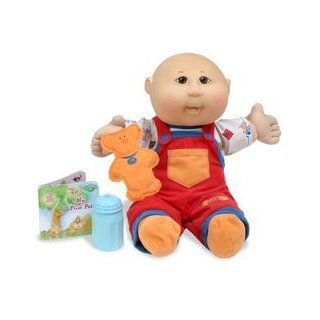 "Cabbage Patch Kids Babies Messy Face 14"" Baby Asian boy bald Toys & Games"