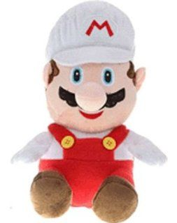 Super Mario Bros. Plush Backpack Fire Mario Toys & Games