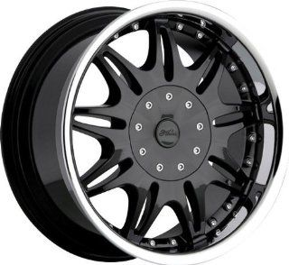 MILANNI   331 ambrosia   20 Inch Rim x 7.5   (4x100/4x4.25) Offset (34) Wheel Finish   Black Automotive