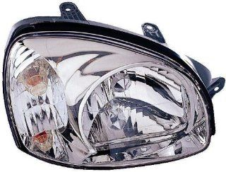 Depo 321 1121R ASD Hyundai Santa Fe Passenger Side Replacement Headlight Assembly Automotive