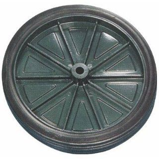Injection Molded Wheel and Hub   1 Pc., 10in. x 1.75in. [Misc.]