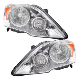 New Headlamp Headlight   OEM 33151SWAA01, OEM 33101SWAA01, Pair Set Automotive
