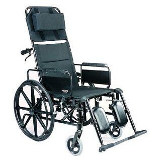 "Aluminum Ultra Light Weight Full Recliner. Extra Wide 20"" Seat, Heavy Duty. Health & Personal Care"