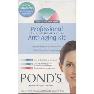 Ponds Professional Style At Home Facial Anti Aging Kit  Facial Treatment Products  Beauty