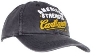 Carhartt Men's Flat Rock Cap, Black, One Size at  Men�s Clothing store