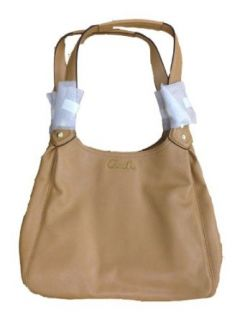Coach Ashley Leather Hobo Handbag   F21926   Camel Shoulder Handbags Shoes