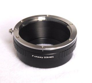 Fotasy NAEF Pro Canon EOS EF Lens to Sony NEX E Mount Camera Mount Adapter  E Mount To Ef S  Camera & Photo